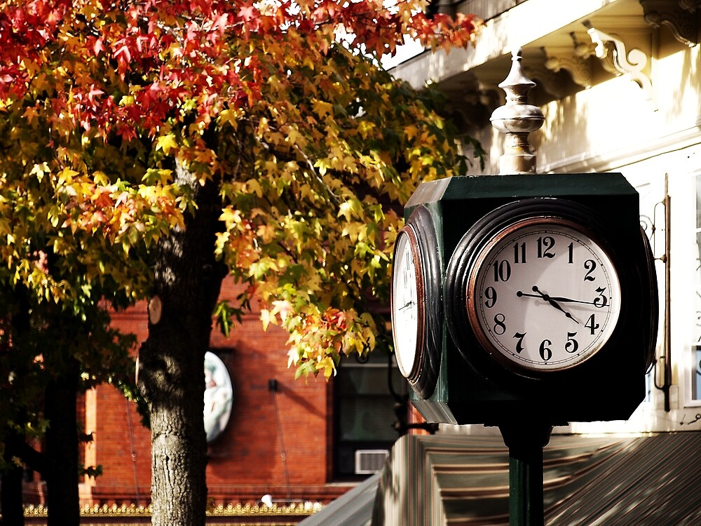 Fairhaven Clock by Jack McCallum