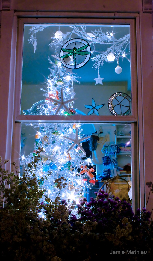 Christmas Window by the Sea by Jamie Mathiau