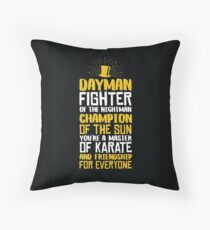 DAYMAN! Champion of the Sun! Throw Pillow
