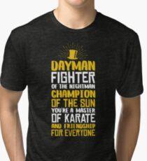 DAYMAN! Champion of the Sun! Tri-blend T-Shirt