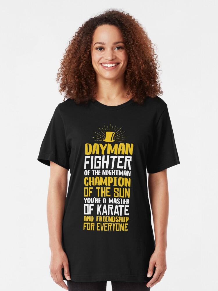 Alternative Ansicht von DAYMAN! Champion der Sonne! Slim Fit T-Shirt