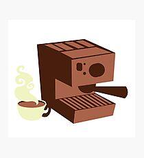 Italian coffee machine! espresso Photographic Print