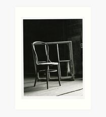 That Chair in the Window Please Art Print
