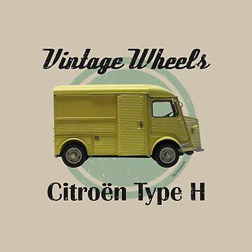 Vintage Wheels - Citroën Type H by DaJellah