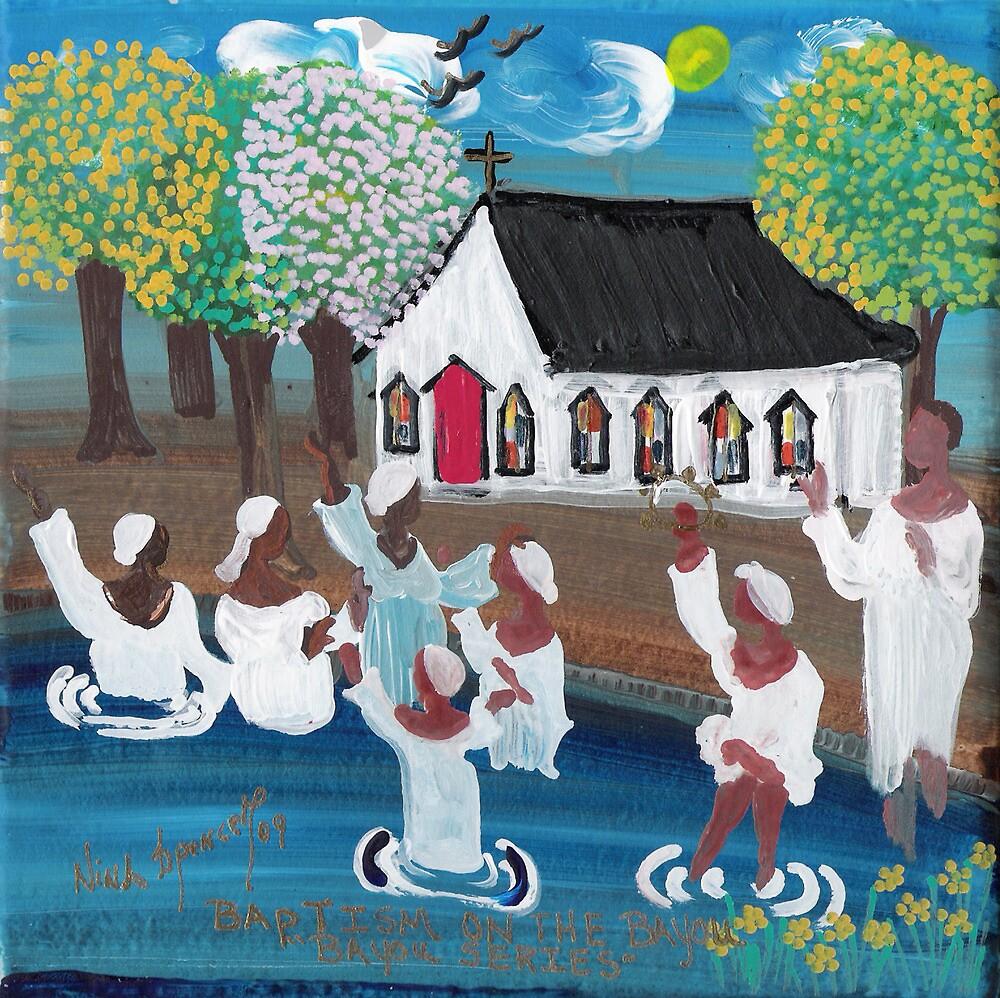 Baptism on the Bayou by ninaspencer