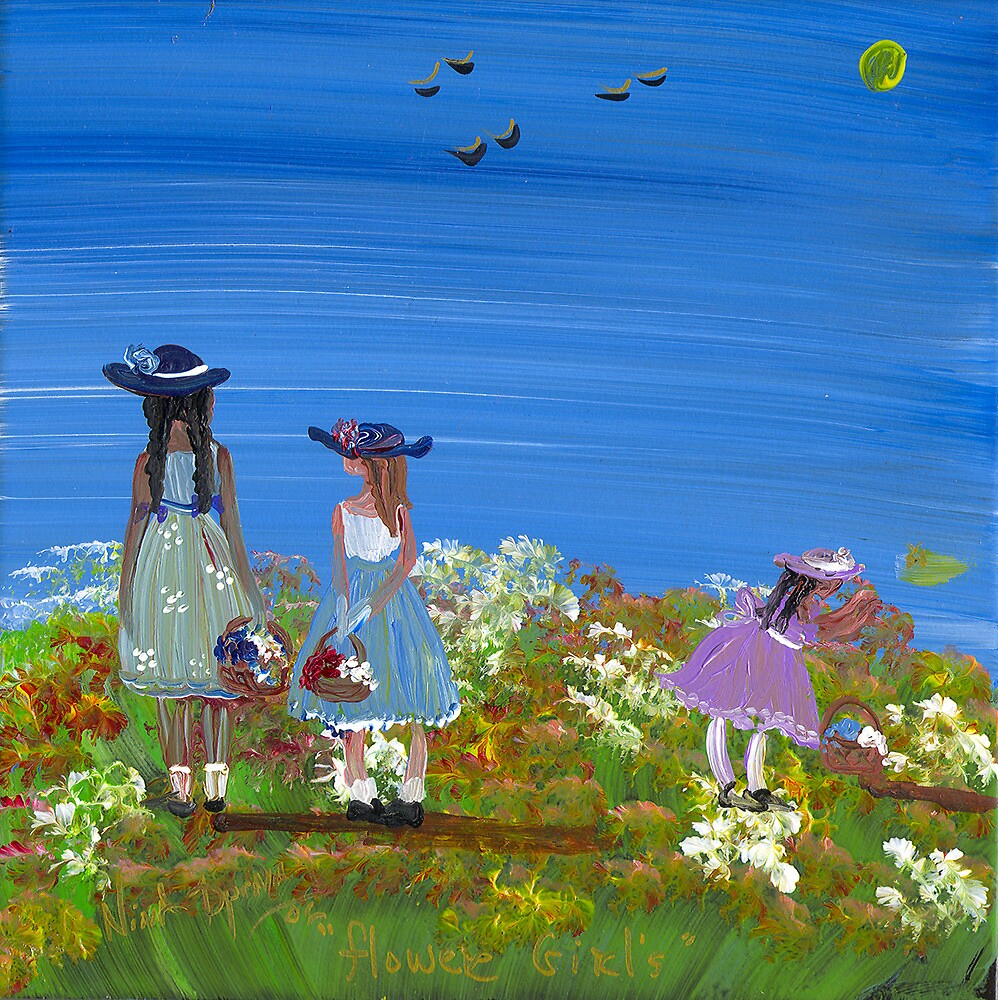 Flower Girls by ninaspencer