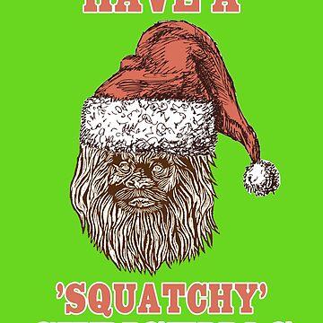 Squatchy Christmas by DedEye