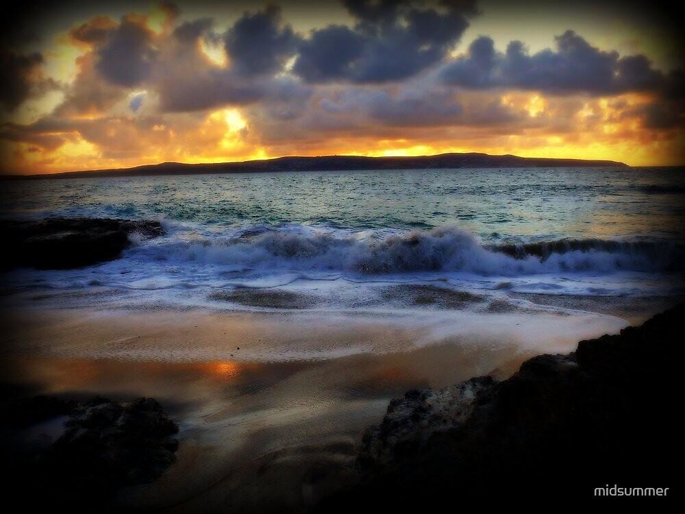 St Ives Bay in November by midsummer