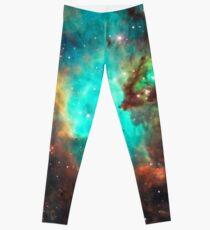 Galaxy / Seahorse / Large Magellanic Cloud / Tarantula Nebula Leggings