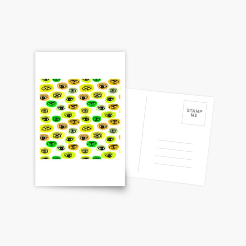 Augenmotiv Postkarte