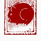 Year of The Pig Abstract by HolidayT-Shirts