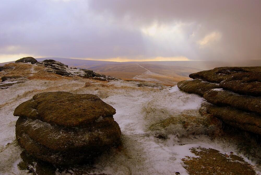 'Snow Kissed Steeperton' by DaveButt
