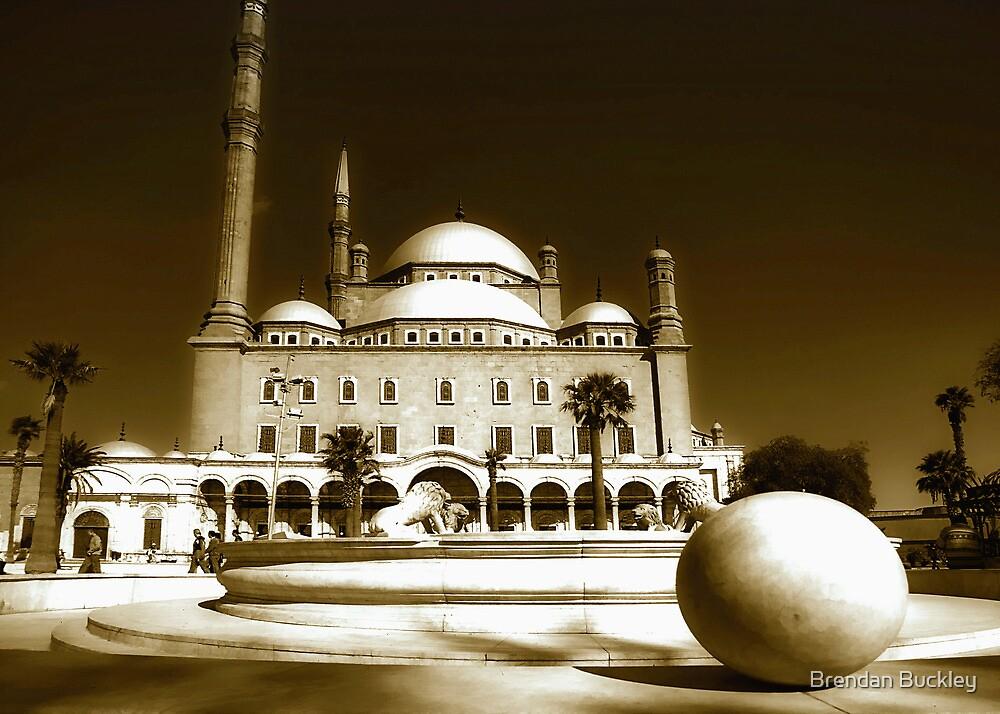 Cairo Mosque by Brendan Buckley