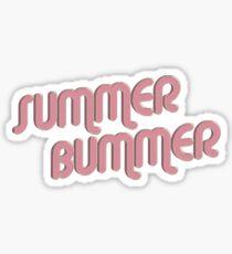 Summer Bummer Sticker