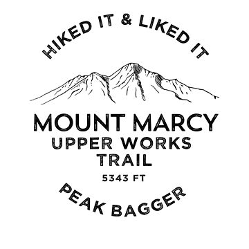 Mount Marcy Upper Works Trail by broadmeadow