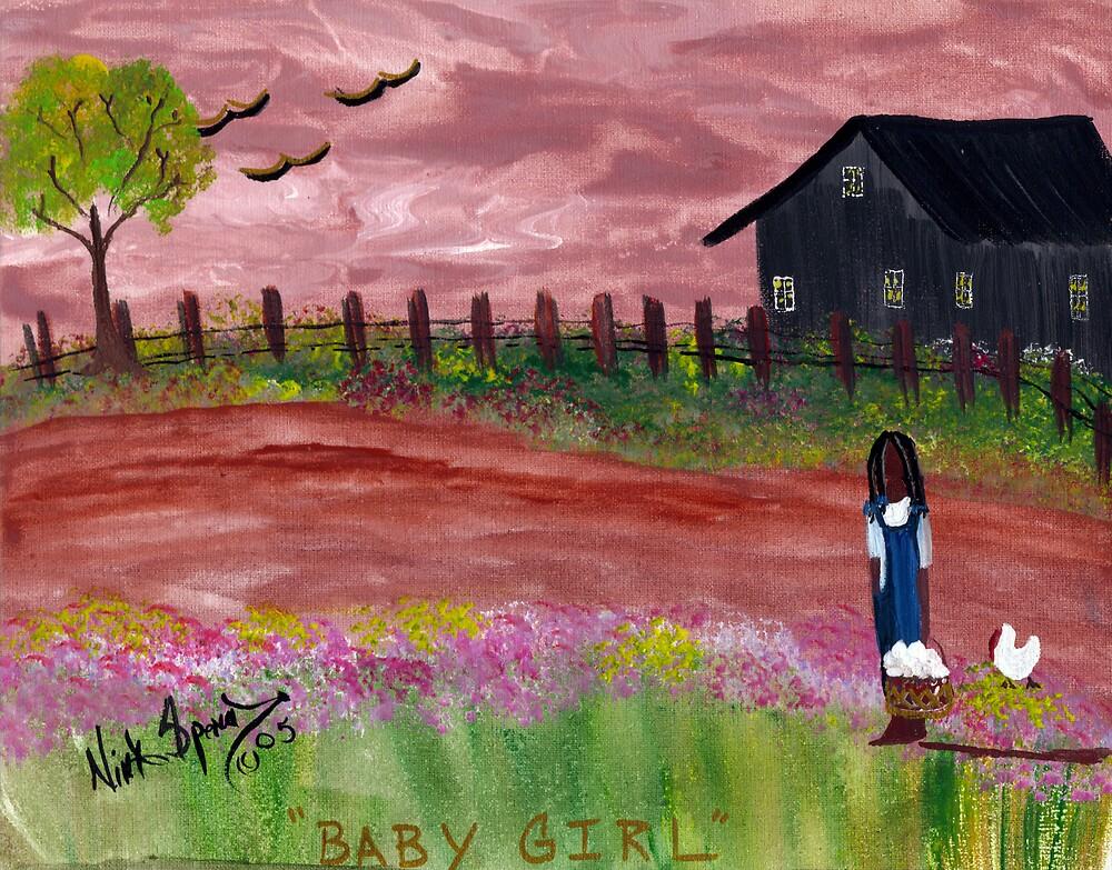 Baby Girl by ninaspencer