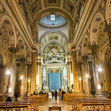 beautiful church in Naples by sunilbhar