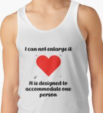 love one person Men's Tank Top
