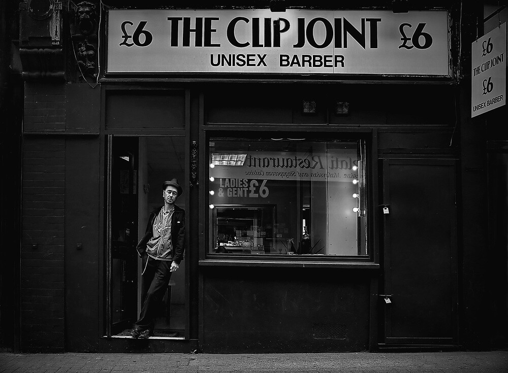 the clip joint by Tony Day