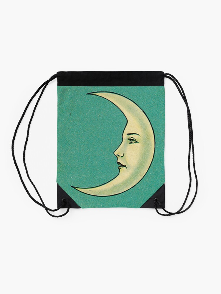 Alternate view of Luna Tarot Drawstring Bag