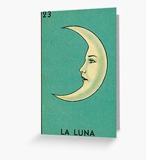 Luna Tarot Greeting Card