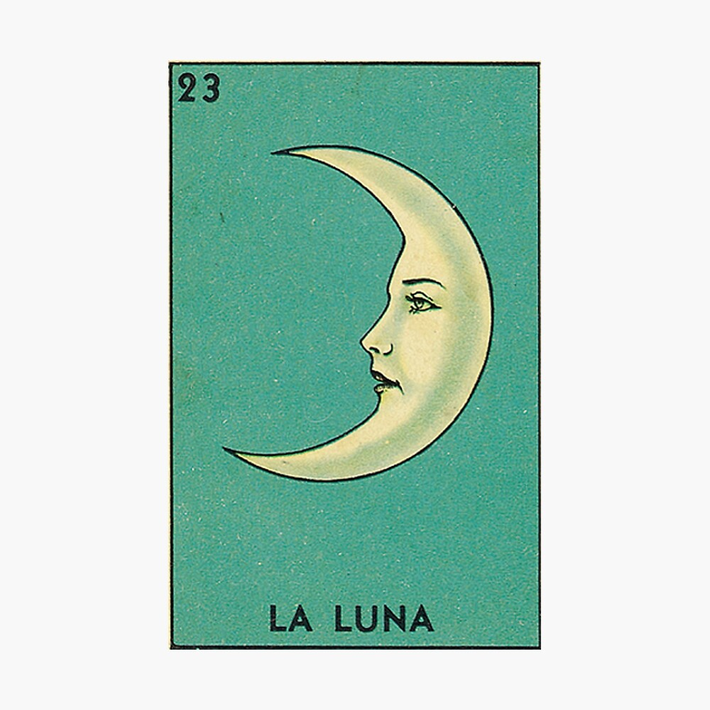 Luna Tarot Photographic Print