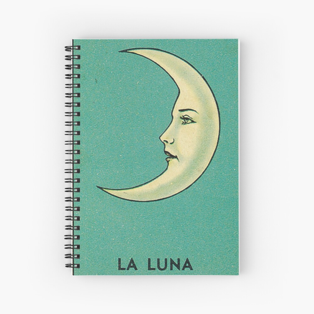 Luna Tarot Spiral Notebook