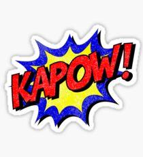 KAPOW! Superhero Sound Sticker