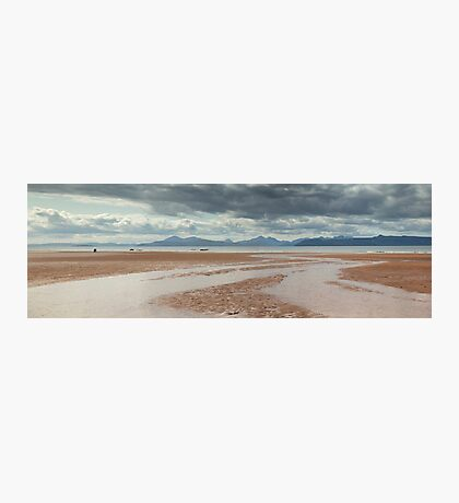 Skye and Raasay from Applecross Panorama Photographic Print