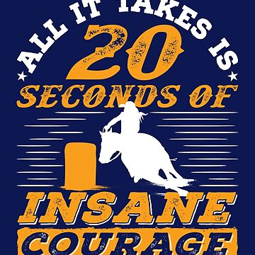 Barrel Racing All It Takes Is 20 Seconds Of Insane Courage by jaygo