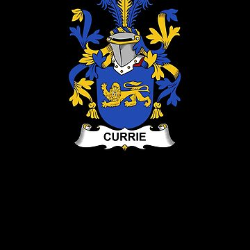 Currie Coat of Arms - Family Crest Shirt by FamilyCrest