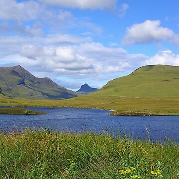 Between Ullapool & Knockan Crag  by lezvee