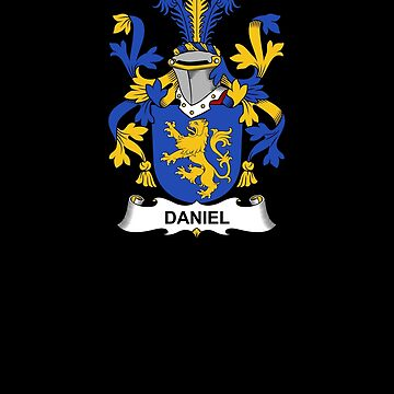 Daniel Coat of Arms - Family Crest Shirt by FamilyCrest