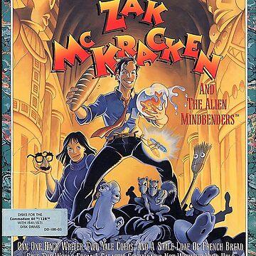 Zak McKraken and the Alien Mindbenders by seagleton