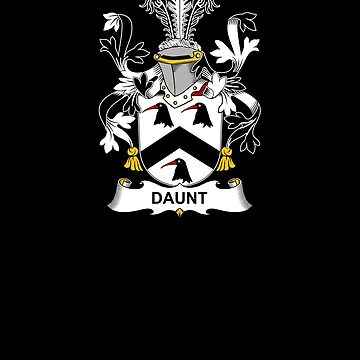 Daunt Coat of Arms - Family Crest Shirt by FamilyCrest