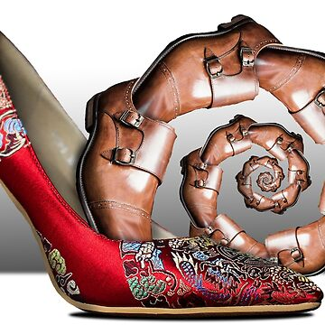 Stiletto with Loafer Droste by GolemAura