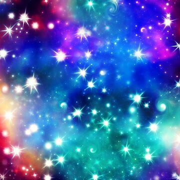 Conexión Cósmica, Galaxia, Espacio, Nebulosa, Estrellas, Planeta, Universo, de boom-art
