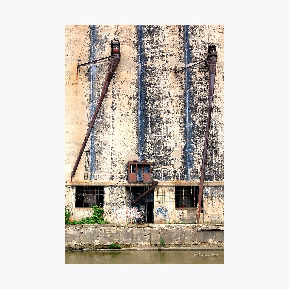 Buffalo's Waterfront Property Photographic Print