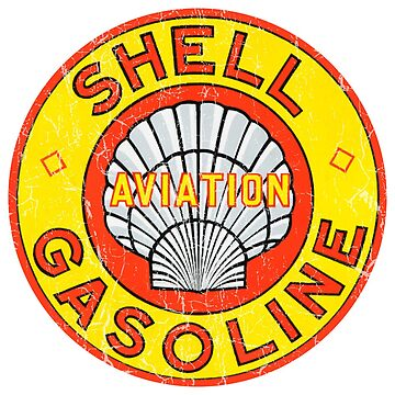 Shell Aviation Gasoline by Bloxworth