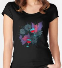 party bats Women's Fitted Scoop T-Shirt