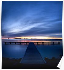 Pier at Millers Bay Poster