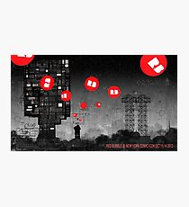 Red Bubble Poster !  Photographic Print