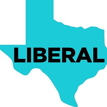 Liberal Texas - blue by wokesouth