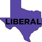 Liberal Texas - purple by wokesouth