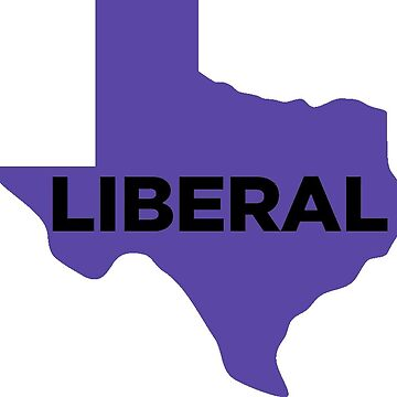 Liberal Texas - purple by wokesouth