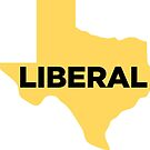 Liberal Texas - yellow by wokesouth