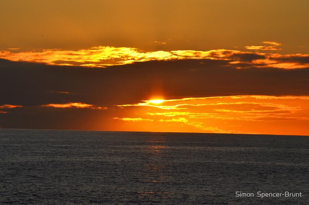 Sunset - Tenerife by Simon  Spencer-Brunt