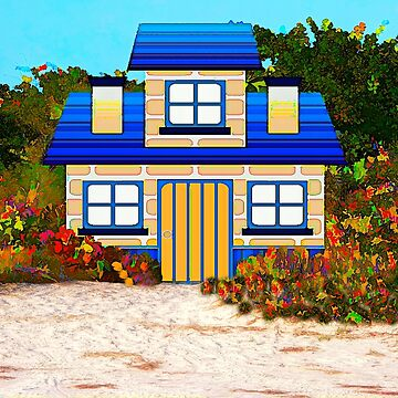 Cottage by the Sea by posyrosie