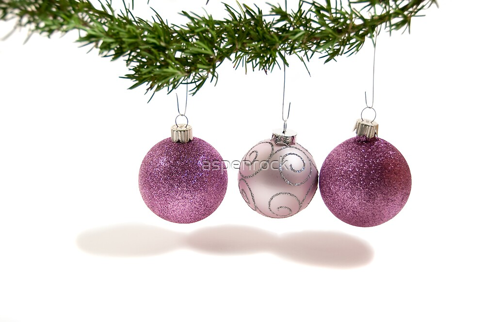 pink ornaments by aspenrock
