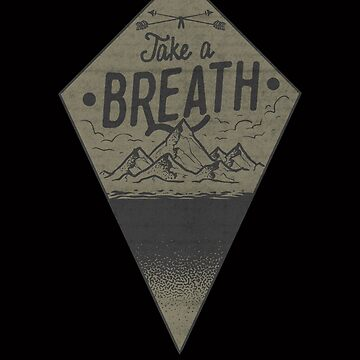 Vintage Take A Breathe - Outdoors, Hiking, Backpacking, Camping nad Touring Gifts and Apparel by manbird
